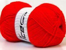 Acrylic Skein Lot Crocheting & Knitting Yarns