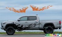 MUD SPLASH vinyl decal graphics for Tacoma, Tundra, Ram, F150, Raptor, Jeep ...
