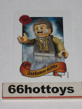 LEGO Pirates of the Caribbean Joshamee Gibbs Card NEW