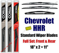 Wipers 3pk Premium Front Special Rear fit 2006-2011 Chevrolet HHR - 19180x2/11A