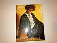 Montgomery Ward Fall & Winter 1981 Catalog.     X