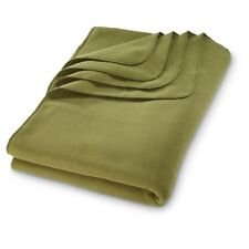 U.S. Military Polartec Fleece Blanket 60 x 90 Made In USA FREE SHIPPING S