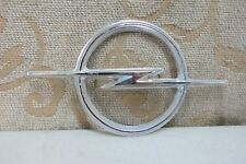 NOS GENUINE OPEL BLITZ MANTA A CHROME GRILLE BADGE EMBLEM # 10.04.203