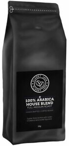 Planet Java 100% Arabica House Blend Coffee Beans (1kg) - Artisan Hand Roasted