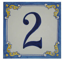 Azulejo personalizado de numero de casa,  number house tile personalized