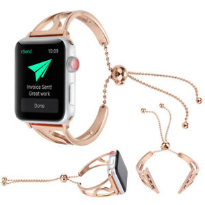 Stainless Steel Band Strap Bracelet Watch Bands For Apple Watch iWatch 38mm 42mm