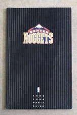 DENVER NUGGETS NBA BASKETBALL MEDIA GUIDE - 1993 1994 - NEAR MINT