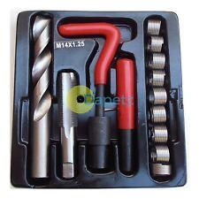 15 pezzi Kit di riparazione filettatura Helicoil m14 x 1.5 x 12.4mm Strumento Garage Officina