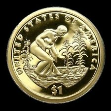 2009-S DEEP CAMEO Proof Sacagawea Golden Dollar Native American $1