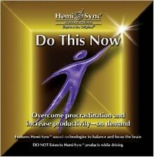 Do This Now Hemi-Sync Monroe new verbal,Self-Help,Procrastination CD 61 Minutes