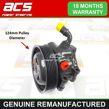 FORD FIESTA 1.25 16v 2002>2008 POWER STEERING PUMP (124mm Pulley) -RECONDITIONED