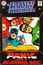 JUSTICE LEAGUE OF AMERICA #62 FN BY GARDNER FOX & SEKOWSKY!