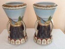 "Vintage IMPERIAL NIPPON Matching Vases, 11"""