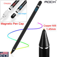 US Rechargeable Touch Screen Stylus Pen For iPhone iPad Samsung PC Sensitive