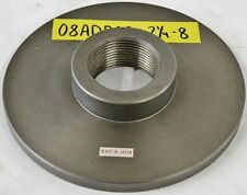 """ERON 7-5/8"""" Chuck Adapter Plate 2-1/4 - 8 Spindle Mount 1/2"""" Thickness"""