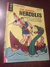 THE MIGHTY HERCULES  #1 GOLD KEY  JULY 1963