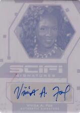 Leaf Pop Century Printing Plate Autograph Card by Vivica A. Fox