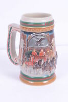 Budweiser Bierkrug Weihnachten 1997 Home for the Holidays Stein Toller Zustand