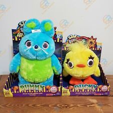 Toy Story 4 Signature Collection Bunny and Ducky Talking Plush