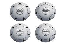 2001-2003 Ford F-150 Harley Davidson Chrome Wheel Cover Center Caps Set OEM NEW