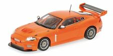 JAGUAR  XKR  GT3   STREET  2008  ORANGE        MINICHAMPS   1/43