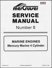 1985-1989 MerCruiser # 8 - Mercury Marine 4 Cyl. Engines Service Manual CD