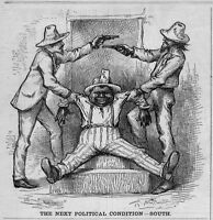 NEGRO THE BLACK VOTE BOURBON AND ANTI BOURBON FIGHT THE NEXT POLITICAL CONDITION