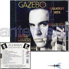 "GAZEBO ""GREATEST HITS"" CD 14 TRACKS ITALO DISCO SEALED"