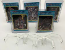 (10) Trading Card Display Stands For Top Loader & Screw Down Holders