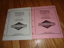 Briggs & Stratton Lock and Key Parts Master Price List 1985