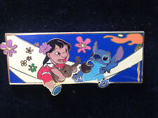 Disney Auctions - Group Jumbo Lilo and Stitch Pin LE 100