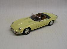 1971 Jaguar E Type 1:43 Lucky Die Cast / Yat Ming 94244 Yellow