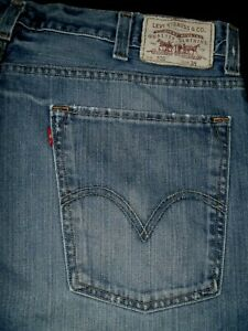 #8928 LEVI'S 520 Slouch Denim Shorts Size 38