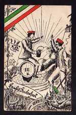 112817 AK Studentika 1909 Gruss vom Fuchsfest Verlag Alpers Hannover