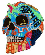 Ecusson patche dorsal dos grande taille Mort Skull patch tattoo brodé