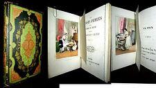 FAUSSES PERLES & PLOMB de CHASSE gravure Lithographie SORRIEU Enfantina EO 1852