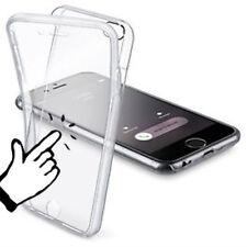 Cover fronte retro per APPLE iPhone 7 CUSTODIA PROTEZIONE SILICONE trasparent