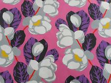 Designers Guild Curtain Fabric 'Flamingo Park' Fuchsia 1.7 METRES 100% Cotton