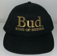 Vintage, BUD / BUDWEISER, TRUCKER BASEBALL CAP (NOS Circa 1980's) Unused