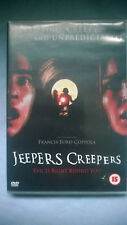 Jeepers Creepers DVD Disc Perfect Excellent Creepy Scary Horror Gina Philips