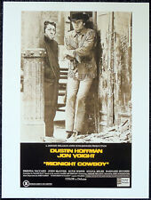 MIDNIGHT COWBOY 1969 FILM MOVIE POSTER PAGE . DUSTIN HOFFMAN JON VOIGHT . S10