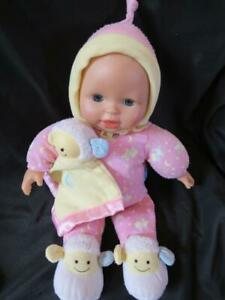 Fisher Price Little Mommy Bedtime Baby Lamb Lullabye Light Up Musical Doll