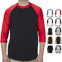National Oceanic and Atmospheric Administration Mens 3//4 Sleeve Plain Raglan T-Shirts Vintage Vacation Tee Shirts