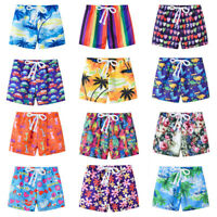 Toddler Baby Kids Boy Summer Print Swimwear Swimsuit Beach Pants Casual Clothes