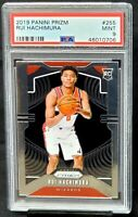 2019 Prizm Wizards Rookie RUI HACHIMURA RC Basketball Card PSA 9 MINT Low Pop