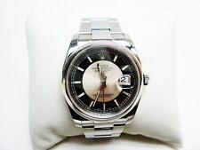 Rolex 116200 Datejust 36mm SS Tuxedo Dial Watch Oyster Bracelet Box & Manuals