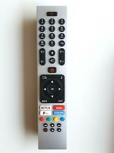 Genuine Polaroid  RC43139P 4K Smart TV Remote For P43UPA2019A P49UPA2029A