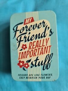 BN Pretty Forever Friends Really Important Stuff Storage Tin