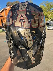 Troy Lee Designs SE4 Polyacrylite BAJA Helmet MIPS XX-Large Black 2019