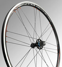 NEW 2017 CAMPAGNOLO VENTO CLINCHER WHEELSET BALCK CAMPAGNOLO 9/10/11 SPEED